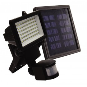 60 LEDs SOLAR FLOODLIGHT WITH MOTION SENSOR