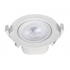 ROUND SPOT LED RECESSED 5W 6.500K