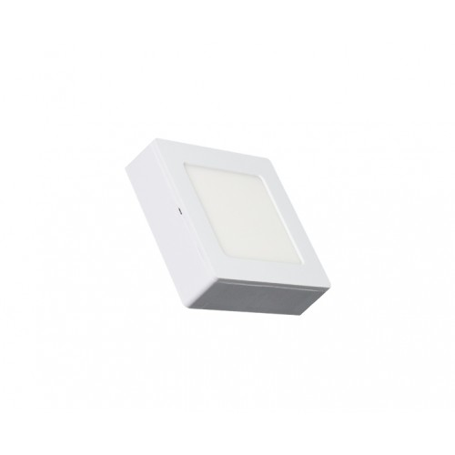 SQUARE LED PANEL 2-IN-1 6W ABS RECESSED AND CEILING