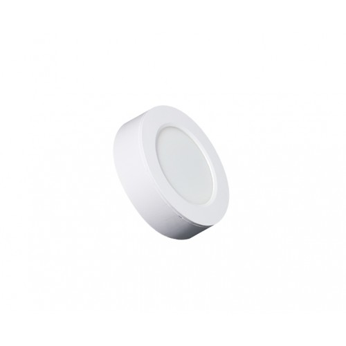 ROUND LED PANEL 6W ABS RECESSED AND CEILING 3.000K