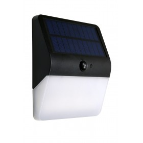 SOLAR WALL LIGHT WITH MOTION SENSOR 400 LUMENS